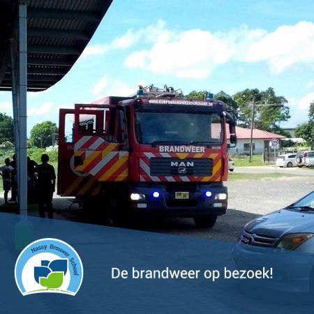 Brandweer op bezoek