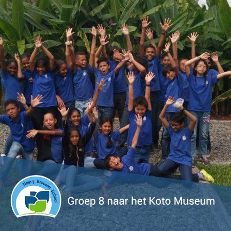 Groep 8 naar het Koto Museum