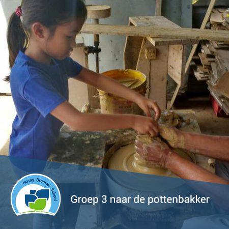 Groep 3 naar de pottenbakker