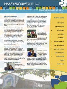 Nassy Brouwer School Nieuwsbrief 2016-2017 Editie NR1