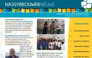 Nassy Brouwer School Nieuwsbrief 2016-2017 Editie NR2