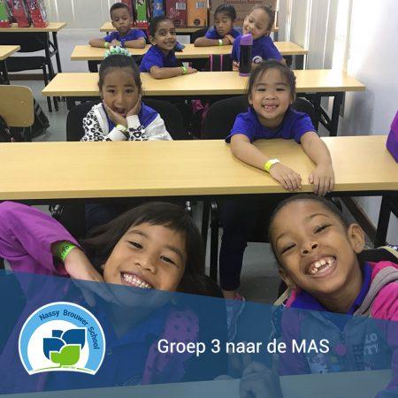 Groep 3 naar de MAS