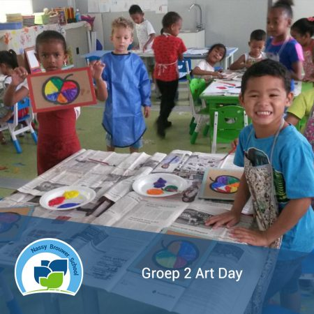 Art Day in Groep 2