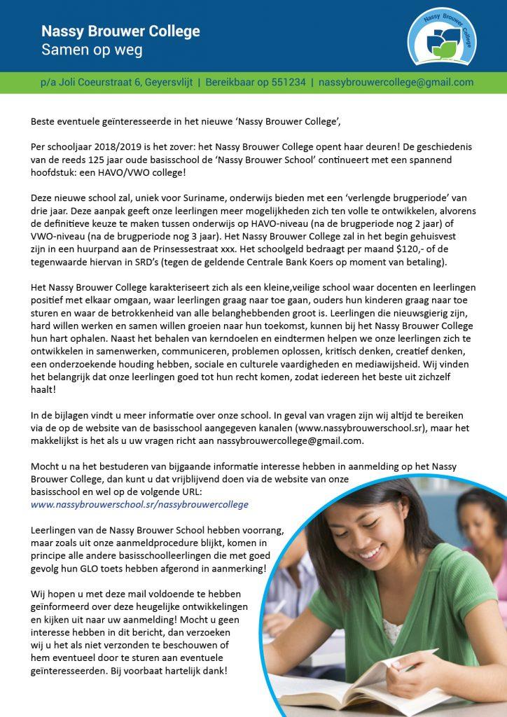 DM Nassy Brouwer College