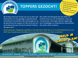 Toppers gezocht!