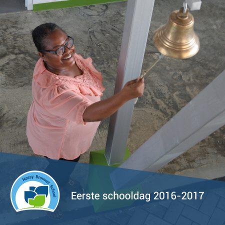 De eerste schooldag 2016-2017