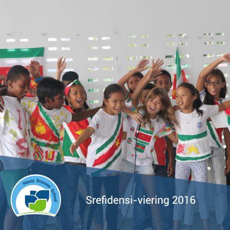 Srefidensi-viering 2016