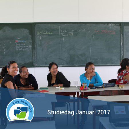 Studiedag Januari 2017