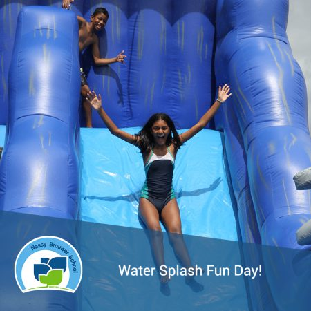 Water Splash Fun Day!